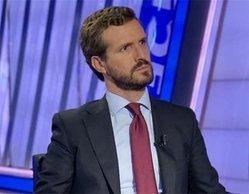 Pablo Casado irrumpe entre lo más visto con su entrevista (3,1%), pero no puede con 'Ciudad cruel' (3,7%)