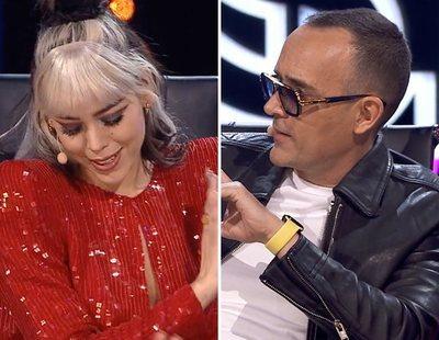 Risto Mejide reprende a Danna Paola por interrumpirlo en 'Top Star':