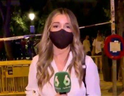 Agresión al equipo de 'laSexta Noche' en el centro de Madrid en el último toque de queda