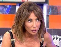 """María Patiño la lía al pensar que el plató de 'Sábado deluxe' estaba ardiendo: """"¡Está saliendo humo!"""""""