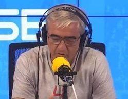 """Carles Francino se emociona en su regreso a 'La Ventana' tras superar el coronavirus: """"Las pasé canutas"""""""