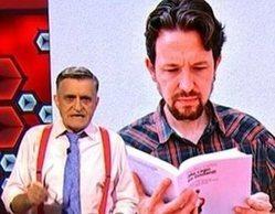 """Wyoming, Sonsoles Ónega y Eduardo Inda reaccionan al corte de coleta de Pablo Iglesias: """"Emula a Stalin"""""""