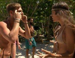 """Tom estalla contra Melyssa en 'Supervivientes' por su acusación de montajista: """"No hables mal de mi novia"""""""