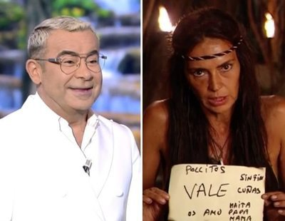Jorge Javier Vázquez provoca a Olga Moreno en 'Supervivientes':