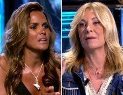 """La bronca entre Marta López y Belén Ro en 'Supervivientes' por Olga: """"No puede basar su concurso en mentiras"""""""