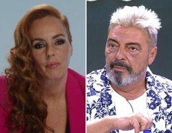 Rocío Carrasco y Antonio Canales entierran el hacha de guerra en directo, tras la polémica con Fidel Albiac