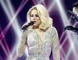 El percance de Moldavia, con micrófono en el suelo incluido, durante la Final de Eurovisión 2021