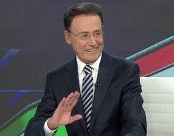 La risa nerviosa de Matías Prats durante la surrealista cobertura de 'Antena 3 noticias' sobre Eurovisión 2021