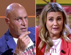 Kiko Matamoros y Carlota Corredera y su tenso frente a frente para zanjar sus diferencias sobre Rocío Carrasco