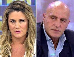 """El zasca de Carlota Corredera a Kiko Matamoros: """"Si fuera la directora, ya estarías viéndote la docuserie"""""""
