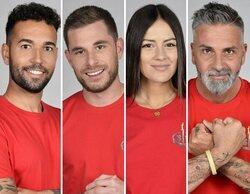 'Supervivientes 2021': Omar Sánchez, Tom Brusse, Melyssa y Carlos Alba, concursantes nominados en la Gala 9