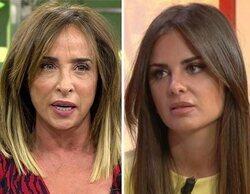 """Así ha sido el tenso reencuentro de María Patiño y Alexia Rivas: """"Tú dices que miro por encima del hombro"""""""
