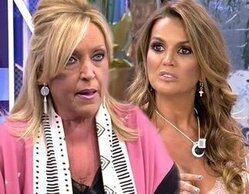 """Lydia Lozano destapa unos mensajes calientes de Marta López y su ¿infidelidad? a Merlos: """"La tiene pequeñita"""""""