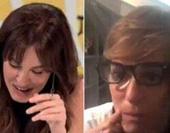 La divertida imitación de Anabel Alonso a los negacionistas que provoca carcajadas a Mamen Mendizábal
