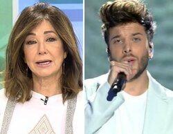"""El dardo de Ana Rosa a Blas Cantó por criticar la vacunación de la Selección: """"Él a quien representa es a TVE"""""""