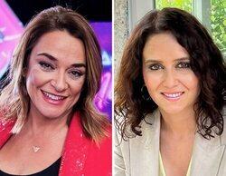 """El halago de Toñi Moreno a Isabel Díaz Ayuso por la maternidad: """"Da gusto encontrar políticos con naturalidad"""""""