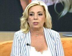 """Carmen Borrego explota contra la hija de Edmundo Arrocet: """"A ver quién es más parásito"""""""