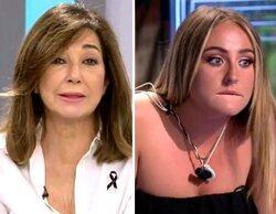 """Ana Rosa Quintana reprocha a Rocío Flores en directo: """"Hay un lenguaje que no se debe utilizar"""""""