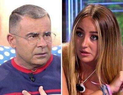 Jorge Javier Vázquez, indignado, reprocha a Rocío Flores sus malas formas