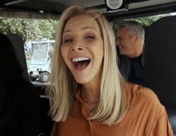 """Nuevo reencuentro de los actores de 'Friends' en 'The Late Late Show', protagonizando el """"Carpool Karaoke"""""""