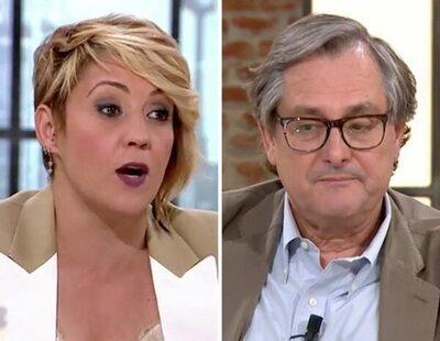 Cristina Pardo y Paco Marhuenda protagonizan un bronco momento a cuenta de Juan Carlos I