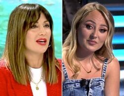 """Nagore Robles atiza a Rocío Flores por sus vetos, con recado a Telecinco incluido: """"Le sobra moño"""""""