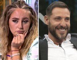 La reacción de Rocío Flores a la pulla de su padre a Rocío Carrasco en 'Supervivientes'