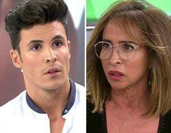"""Kiko Jiménez se enfrenta a María Patiño y Sergi Ferré en 'Sálvame': """"Eres un ignorante"""""""