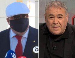 """La pulla del excomisario Villarejo a Ferreras tras cargar contra los medios: """"Me debe una comida"""""""