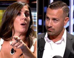 """Anabel Pantoja y Rafa Mora, enfrentados por Omar Sánchez: """"Entre los dos, no hacéis un 'Supervivientes'"""""""