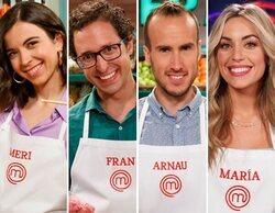 Meri, Fran, Arnau y María se convierten en finalistas de 'MasterChef 9'