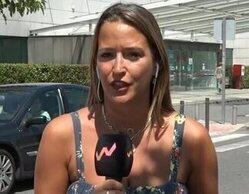 Amanda, reportera de 'Viva la vida', a punto de desvanecerse en pleno directo por las altas temperaturas
