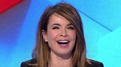 Carme Chaparro, copresentadora por sorpresa de 'Todo es mentira' tras el positivo en Covid-19 de Marta Flich
