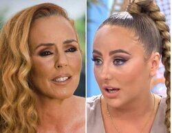 Rocío Carrasco y Rocío Flores coinciden por primera vez al mismo tiempo en los estudios de Telecinco