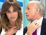 """Ana Terradillos le gasta una broma a Eduardo Inda que provoca su enfado: """"Es una pullita que te he metido"""""""