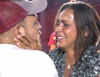 David Flores sorprende a Olga Moreno tras su victoria en 'Supervivientes'