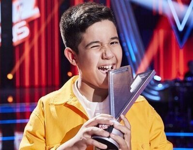 Levi Díaz, del equipo de Melendi, se convierte en el ganador de 'La Voz Kids 2021'