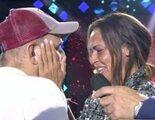El empujón a David Flores para que abrazara a Olga Moreno: ¿Innecesario o espontáneo?