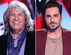 José Mercé y David Bustamante serán coaches en la tercera edición de 'La Voz Senior'