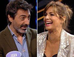 Juan del Val cuenta en 'Family Feud' cómo fue su primera cita con Nuria Roca