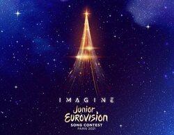 """Eurovisión Junior 2021 descubre su nuevo logo e invita a los participantes a """"imaginar"""" con su eslogan"""