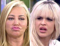 """Belén Esteban, a gritos y harta, reprende las descalificaciones de Ylenia Padilla: """"¡Hipócrita, sinvergüenza!"""""""