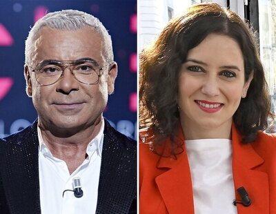 Jorge Javier Vázquez azota a Isabel Díaz Ayuso, tras negar la homofobia social