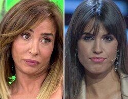"""María Patiño confirma el supuesto veto de Mediaset a Sofía Suescun: """"¿Puedes aclararlo?"""""""