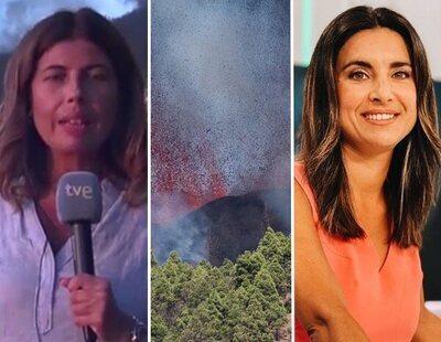Así fue la cobertura televisiva de la erupción del volcán en La Palma