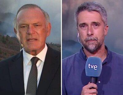 Piqueras, Franganillo y otros televisivos, enviados a La Palma por la erupción del volcán
