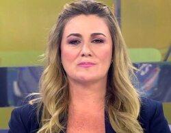 """Carlota Corredera, firme ante las críticas: """"No van a conseguir silenciarme; tengo el respaldo de mis jefes"""""""