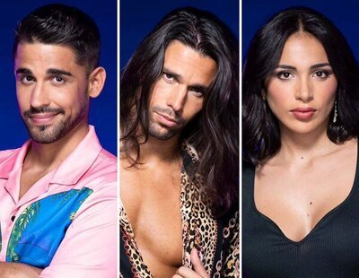 Miguel Frigenti, Luca Onestini y Sandra Pica, concursantes nominados en 'Secret Story'