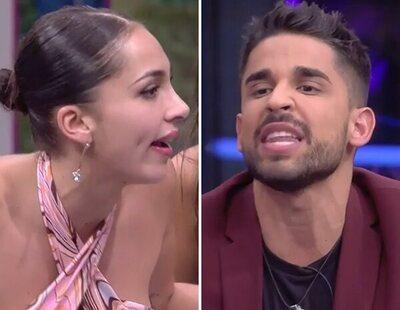 Sandra Pica estalla en directo ante las insinuaciones de Miguel Frigenti en 'Secret Story'