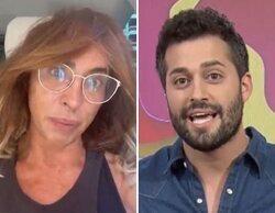 María Patiño no llega a 'Socialité' por un atasco y Javier de Hoyos toma su relevo in extremis